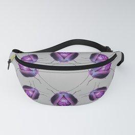 Purple Agate Beetle Fanny Pack