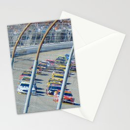 Let's Race Stationery Cards