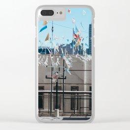 Hoop Dreams Clear iPhone Case