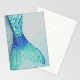 swim away with me Stationery Cards