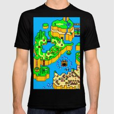 Mario World '84 Black SMALL Mens Fitted Tee
