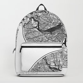 Boston Map Universe Backpack