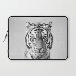 Tiger - Black & White Laptop Sleeve