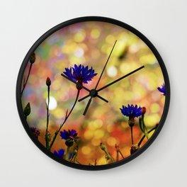 Summer Field Impression 2 Wall Clock