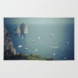 Amalfi coast 4 Rug