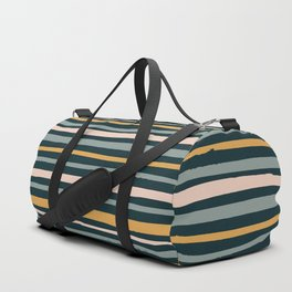 Autumn is calling - stripes Duffle Bag