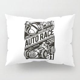 auto race Pillow Sham