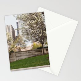 Millennium Park in May Stationery Cards