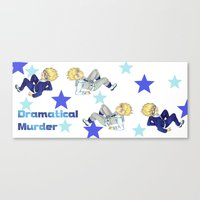 dramatical murder Canvas Prints featuring Virus and Trip ( Dramatical Murder) by SpigaRose