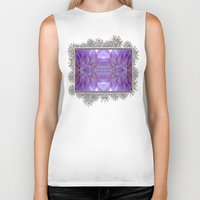 randy c Biker Tanks featuring Mingus Randy Abstract by JMcCombie