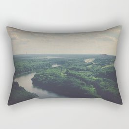Flying Above St. Paul Rectangular Pillow