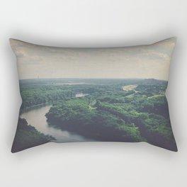 Flying Above St. Paul Rectangular Pillow