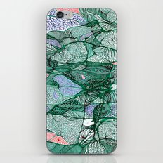 Drops in the Green Cell  iPhone & iPod Skin