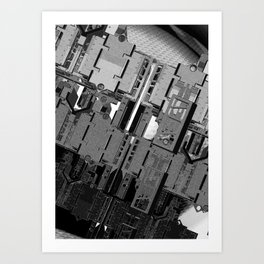 Mechanical 2 Art Print