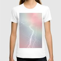 lightning T-shirts featuring Lightning  by littlehomesteadco