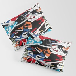 Jordan 1 Pattern Pillow Sham