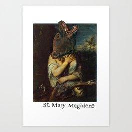 St. Mary Magdalene Art Print