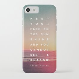 Face to the Sunshine iPhone Case
