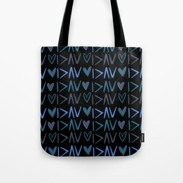 I'm Greater Than Highs and Lows-Black Tote Bag