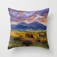 Mount Sopris Throw Pillow