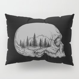 SKULL/FOREST II Pillow Sham