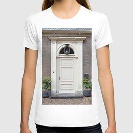 White church door T-shirt