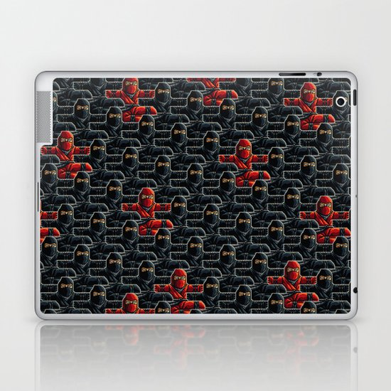 Ninja Attack Laptop & iPad Skin
