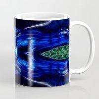 malachite Mugs featuring Azurite - Malachite by Lucia