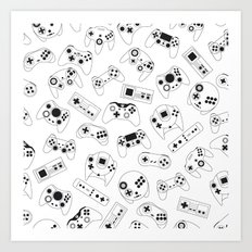 The world of controls Art Print