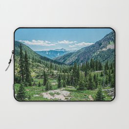 Colorado Wilderness // Why live anywhere else? Amazing Peaceful Scenery with Evergreen Dusted Hills Laptop Sleeve