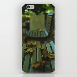 Winter's Left Over  iPhone Skin