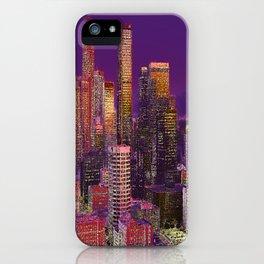 LOS ANGELES iPhone Case