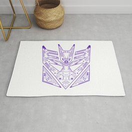 Decepticon Tech Purple Rug