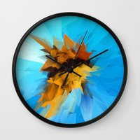 butterfly Wall Clocks featuring Butterfly by Paul Kimble