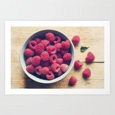 Sweet Red Art Print