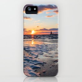 Sunset | The Point at Cape Henlopen State Park - Lewes, Delaware iPhone Case