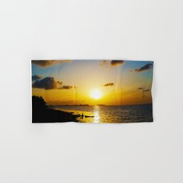 Seashore Serenity at Sunset Hand & Bath Towel