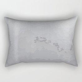 Grey Iron Background Rectangular Pillow