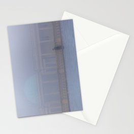 Out of the Fog, Eaton Park, Norwich Stationery Cards