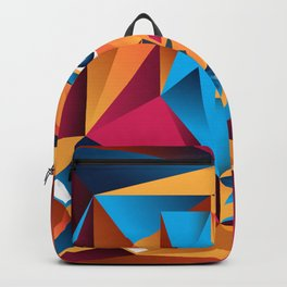 The King Cubism Art Backpack