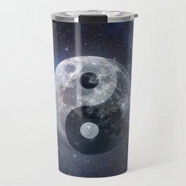 Yin Yang Moon Travel Mug