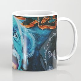 Einstein graffiti Coffee Mug