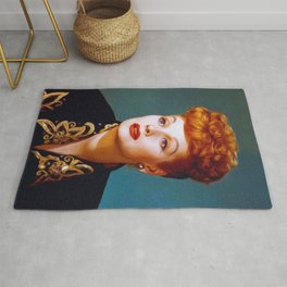 Lucille Ball, Actress Rug