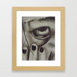 Anubis Lok  Framed Art Print