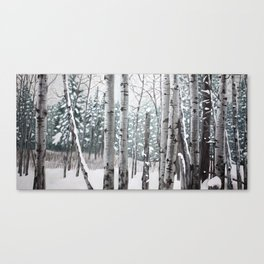 Trembling Aspen Canvas Print