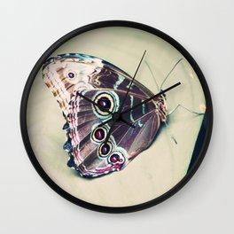 Morpho Wall Clock