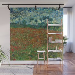 Field with Poppies Wall Mural