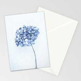 Hydrangea Blue 2 Stationery Cards