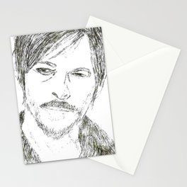 Daryl Dixon- The Walking Dead Stationery Cards