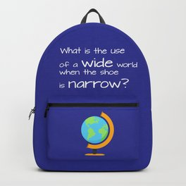 Wide world Backpack